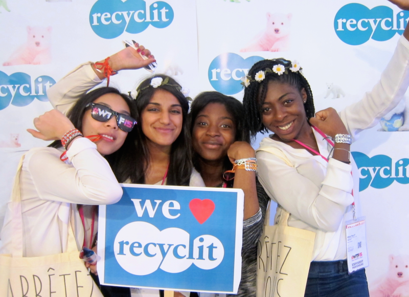 Recyclit au salon WTF*… !